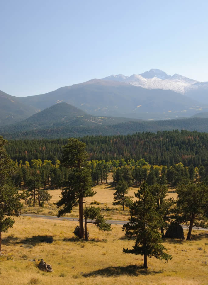 Rocky Mountains National Park Colorado
