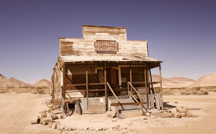 Rhyolite Ghost Town photo : Pascal Bovet