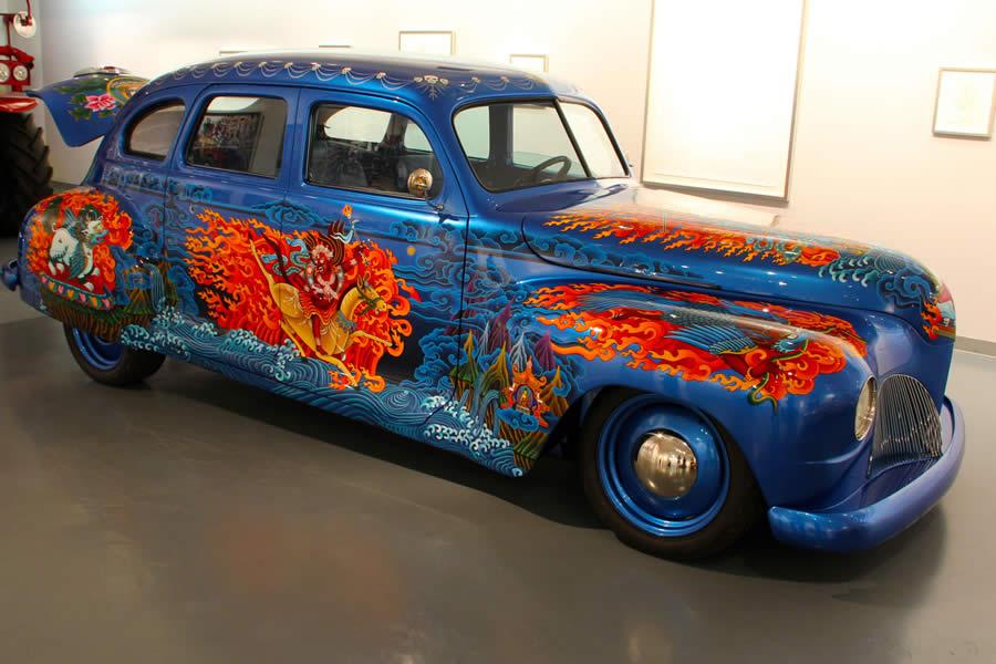 Louer une belle américaine : Art car Museum