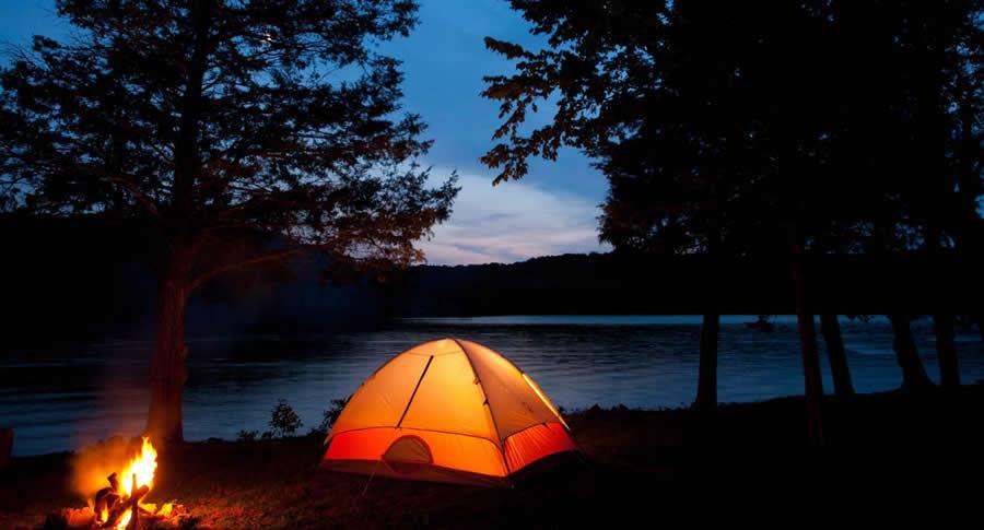 campings aux Etats-Unis