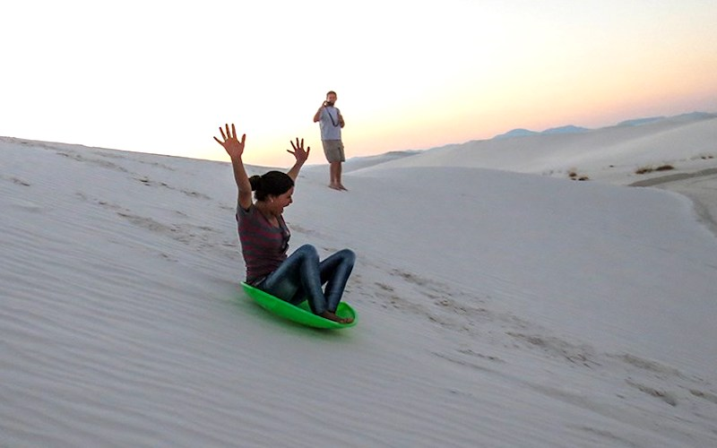luge white sands