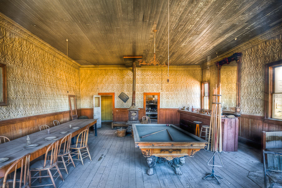 saloon a bodie state historic park