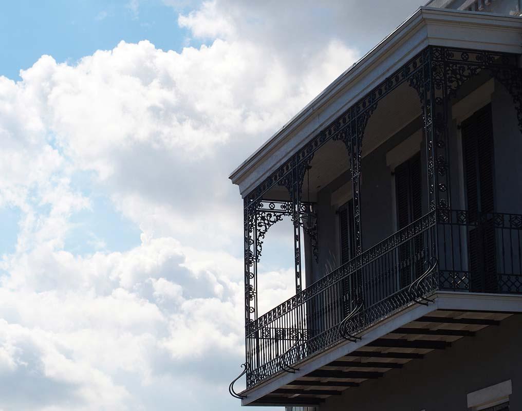 balcon Nouvelle-Orléans