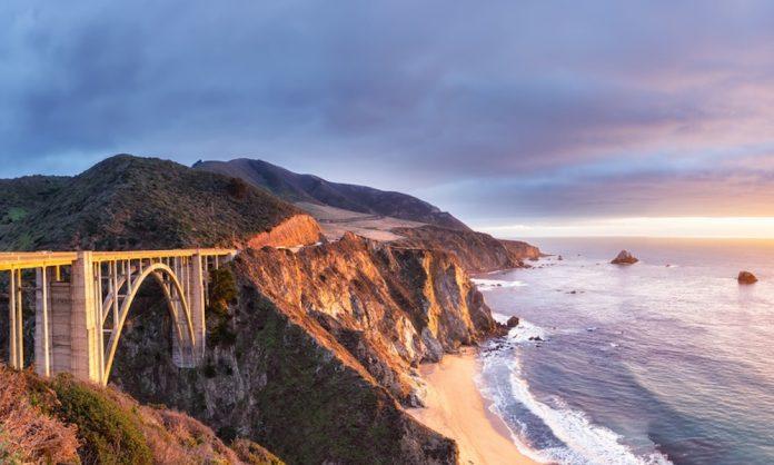 routes panoramiques de la Californie