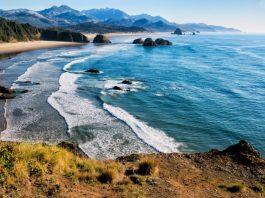 côte de l'Oregon