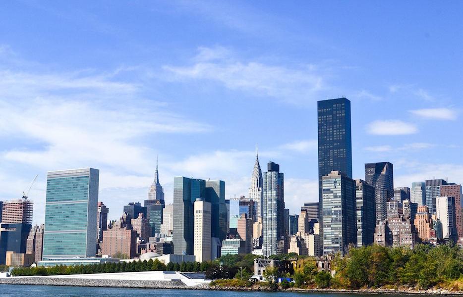 se deplacer a new york en ferry