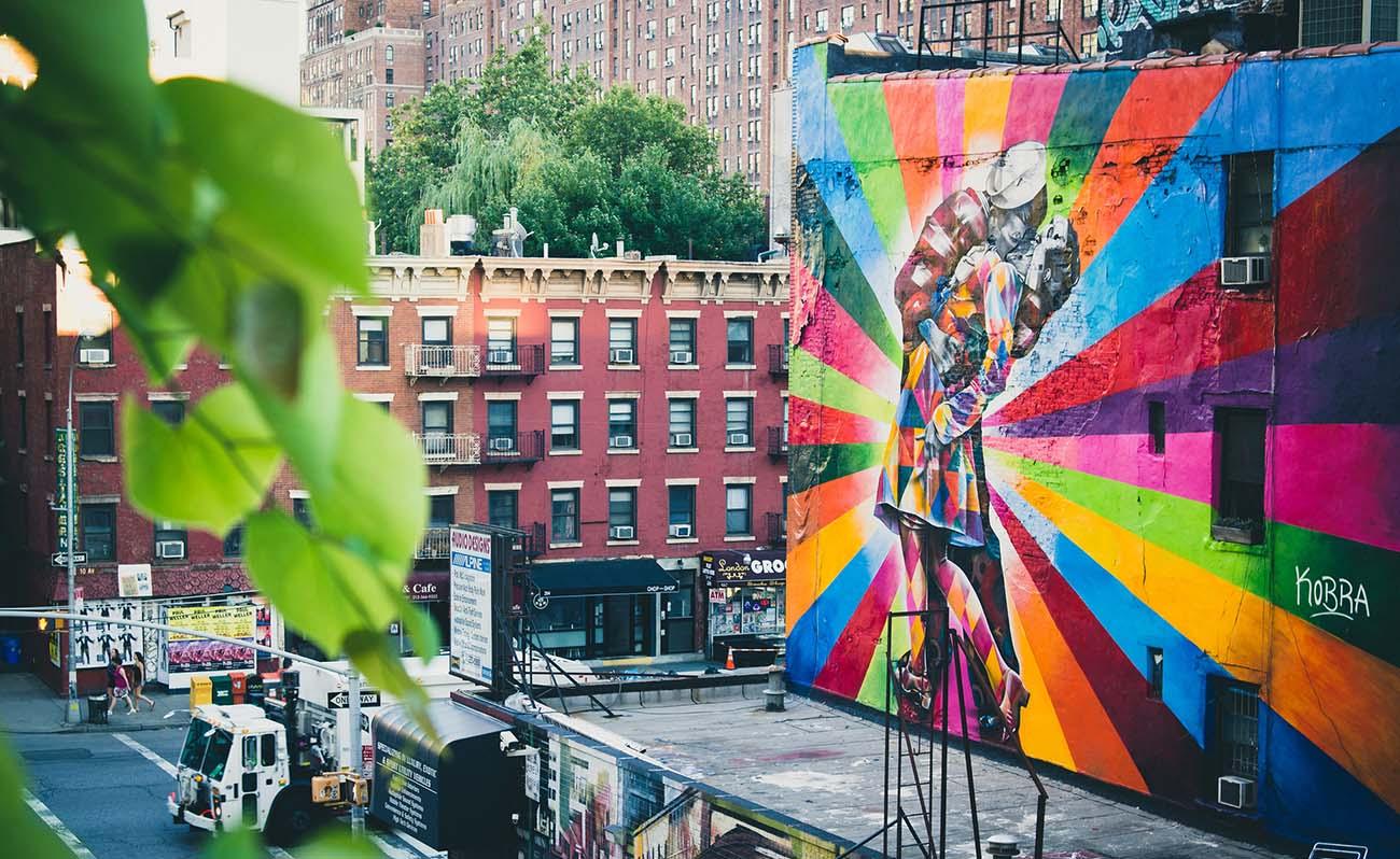 Peindre Une Fresque Sur Un Mur street art à new york : sur les traces des fresques urbaines