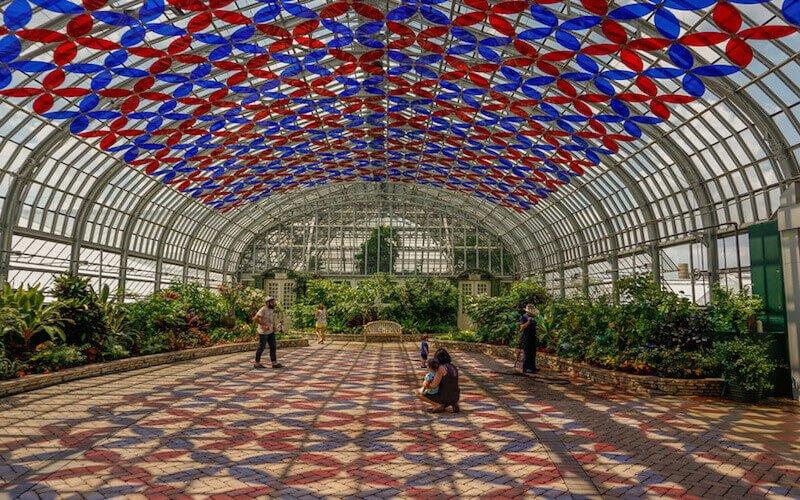 Garfield Park Conservatory lieux secrets et insolites a Chicago