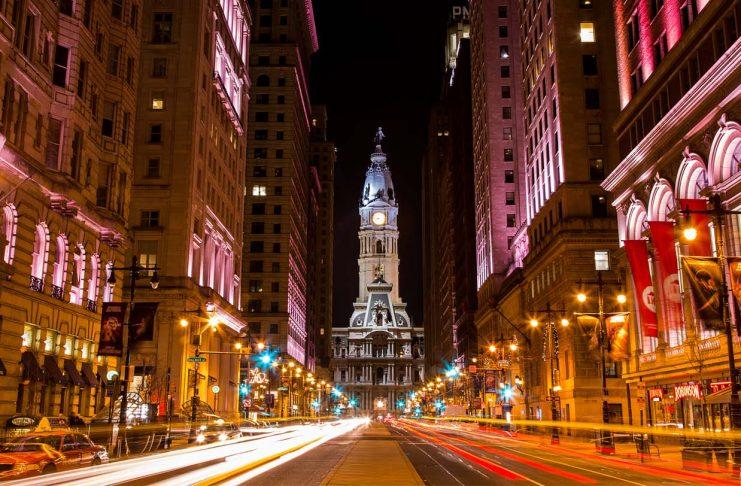 se déplacer à Philadelphie